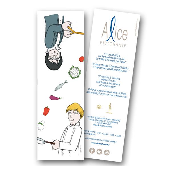 Segnalibro – Alice Ristorante co Eataly Milano