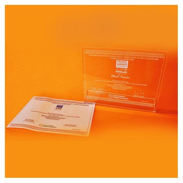 Diploma Certificazione delle Competenze ISPB e AIPB