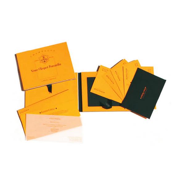 Veuve Clicquot – Astuccio con libro e schede di degustazione