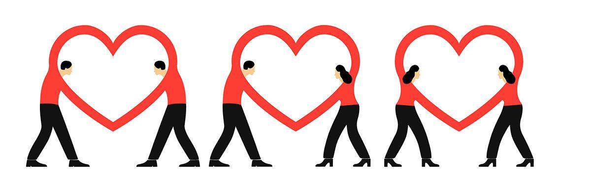 3 COUPLES